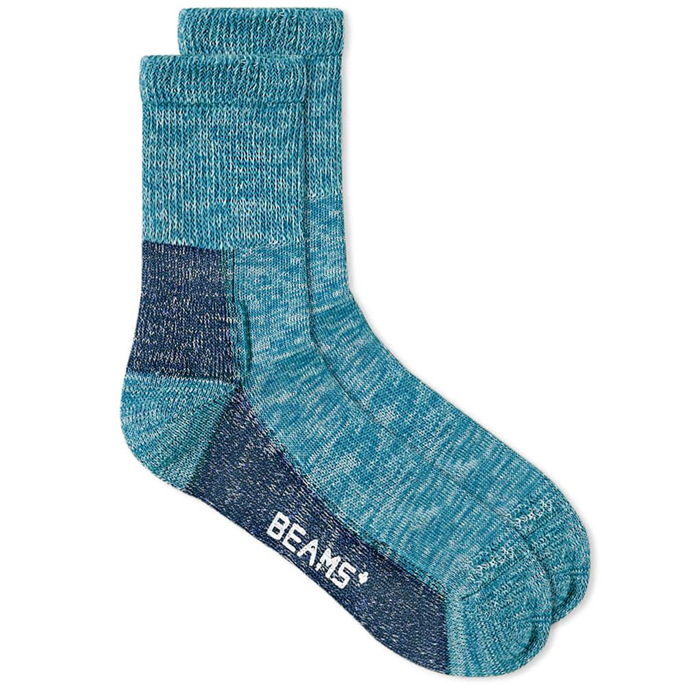 Beams Plus Outdoor Sock - Navy