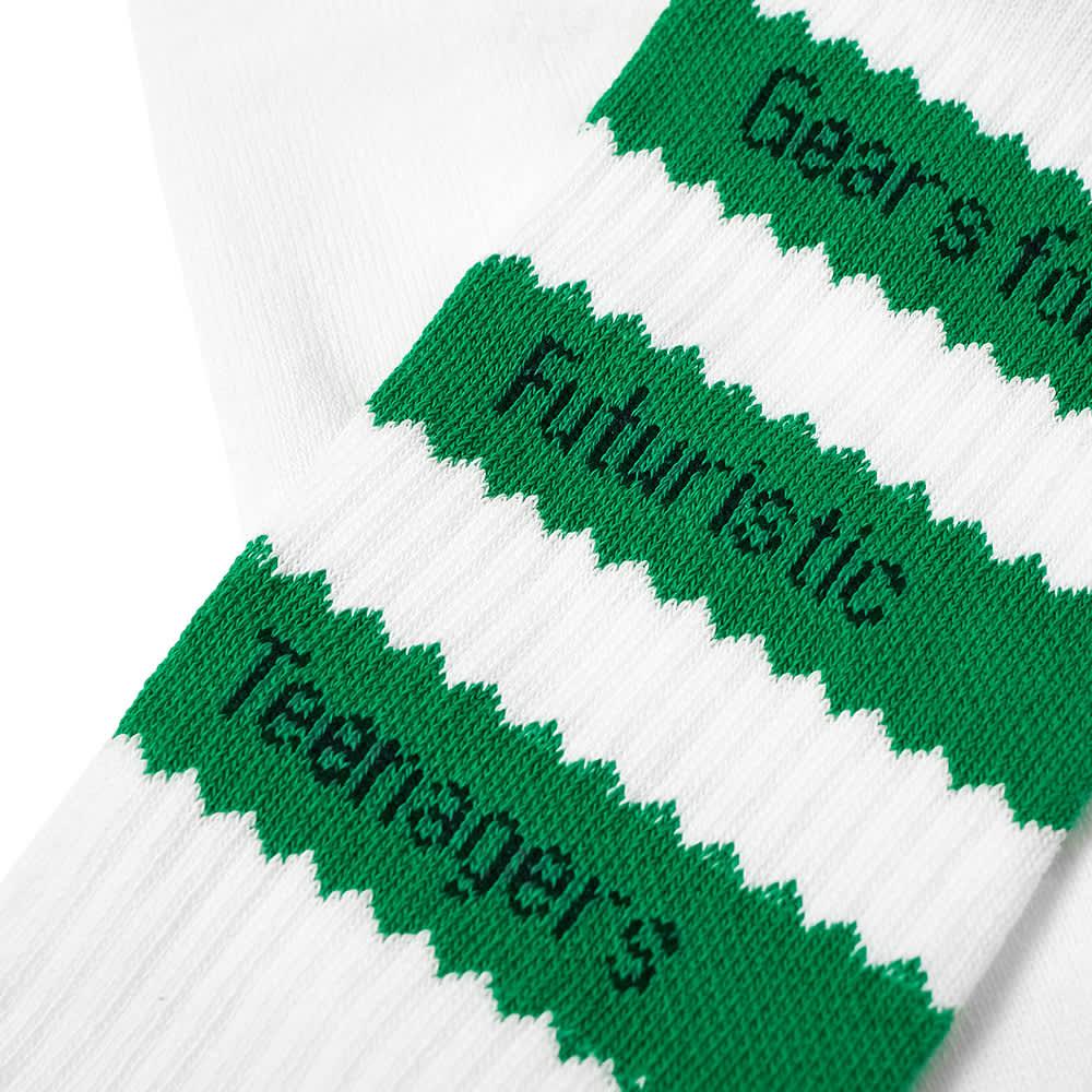 Adidas x Human Made Sock - White & Green