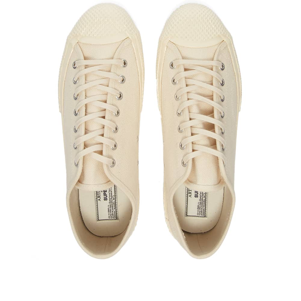 Artifact By Superga 2434-MS Japanese Canvas Low - White Mastice
