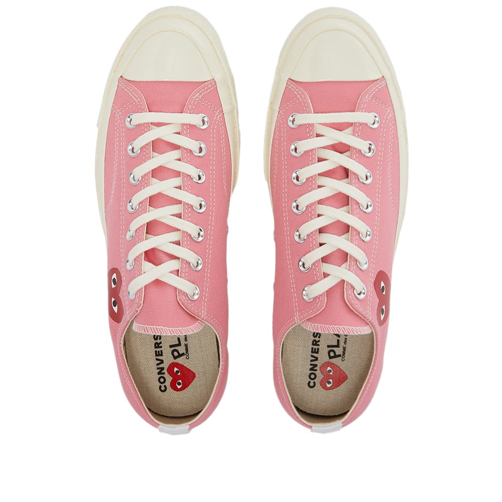Comme des Garcons PLAY X Converse Chuck Taylor 70 Ox - Pink