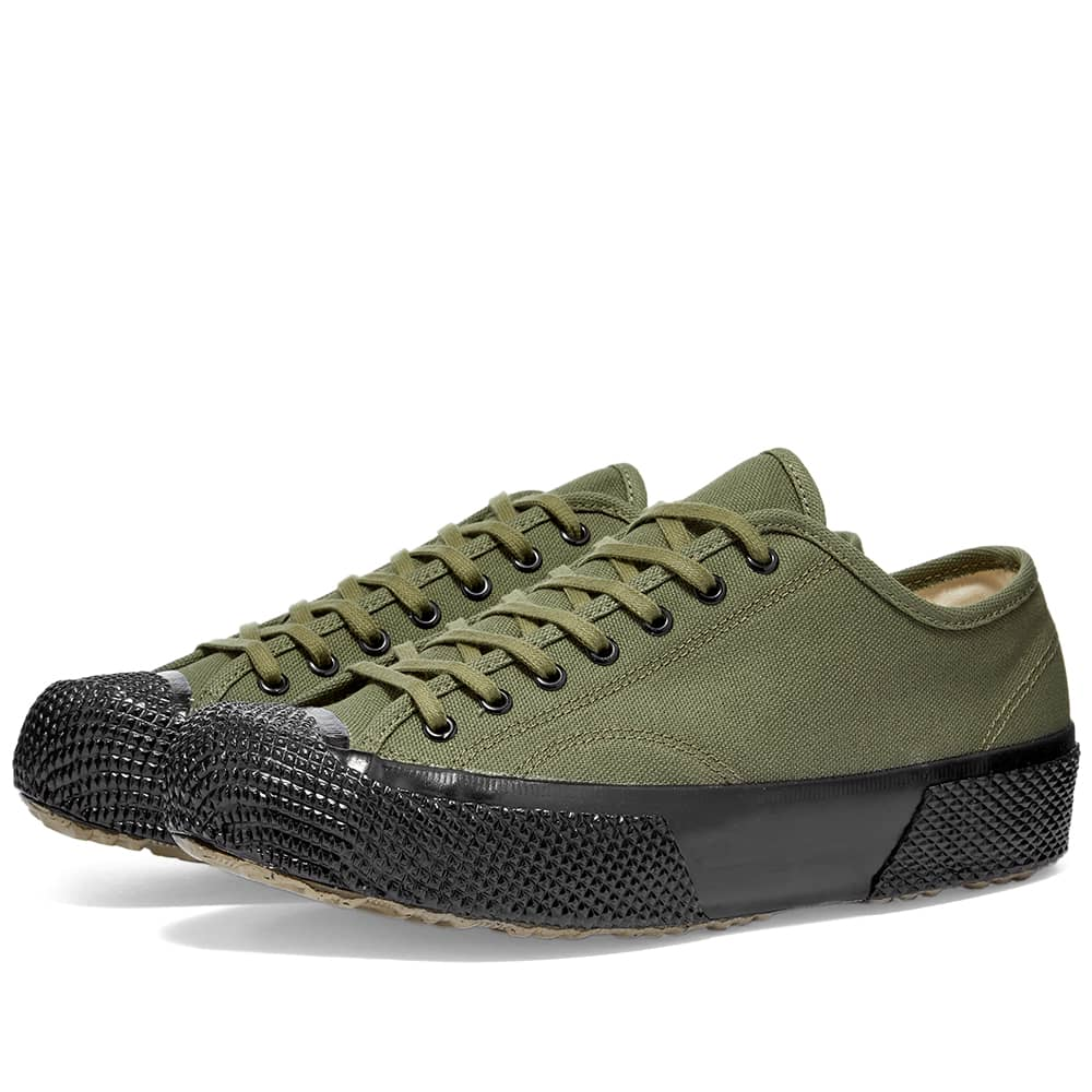 Artifact By Superga 2434-MS Japanese Canvas Low - Military Green & Black