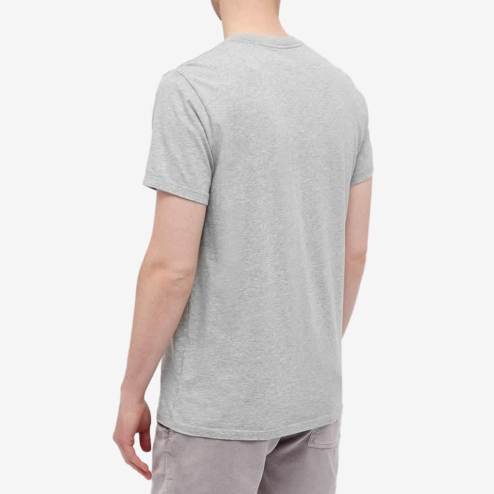 Save Khaki Grey Heather Pocket Tee - Heather Grey