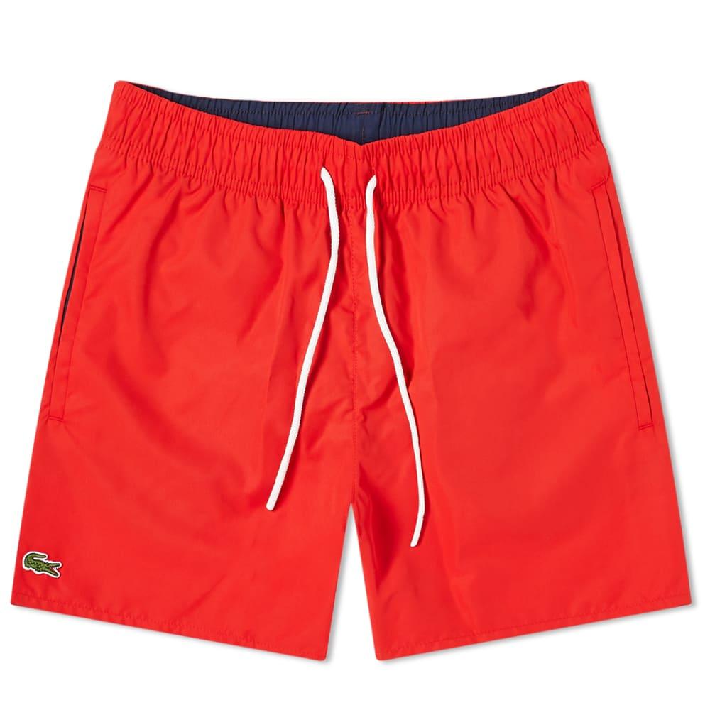 Lacoste Classic Swim Short - Red