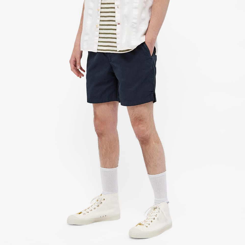 Save Khaki Twill Easy Short - Navy
