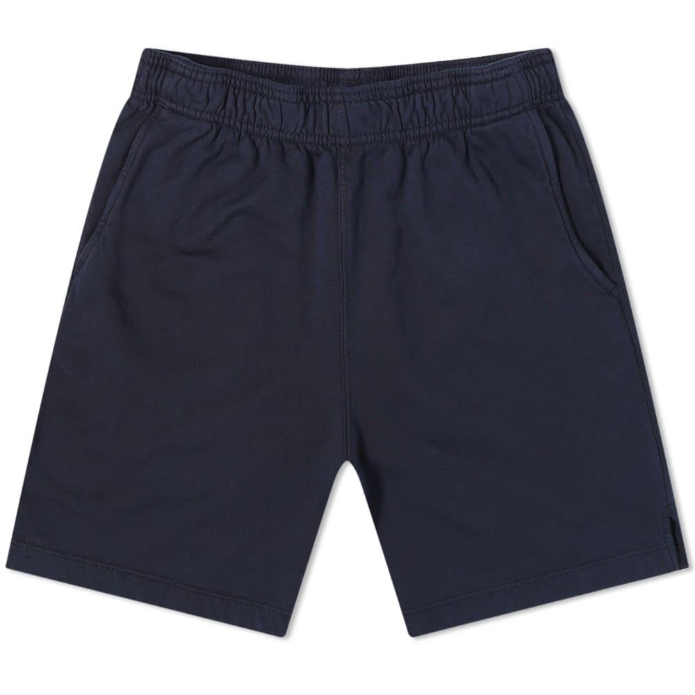 Save Khaki Supima Fleece Easy Short - Navy