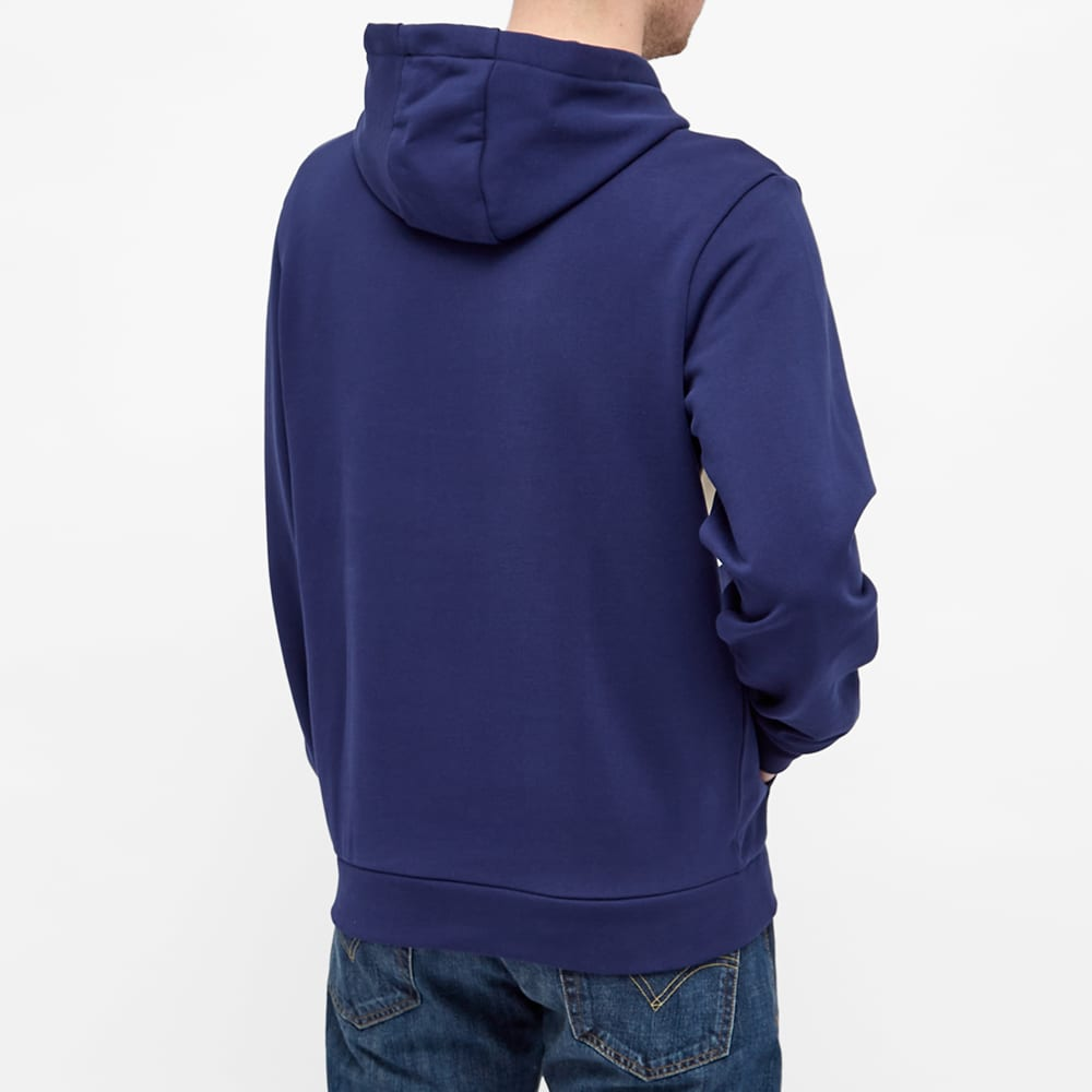 Lacoste Colour Block Hoody - Natural & Navy