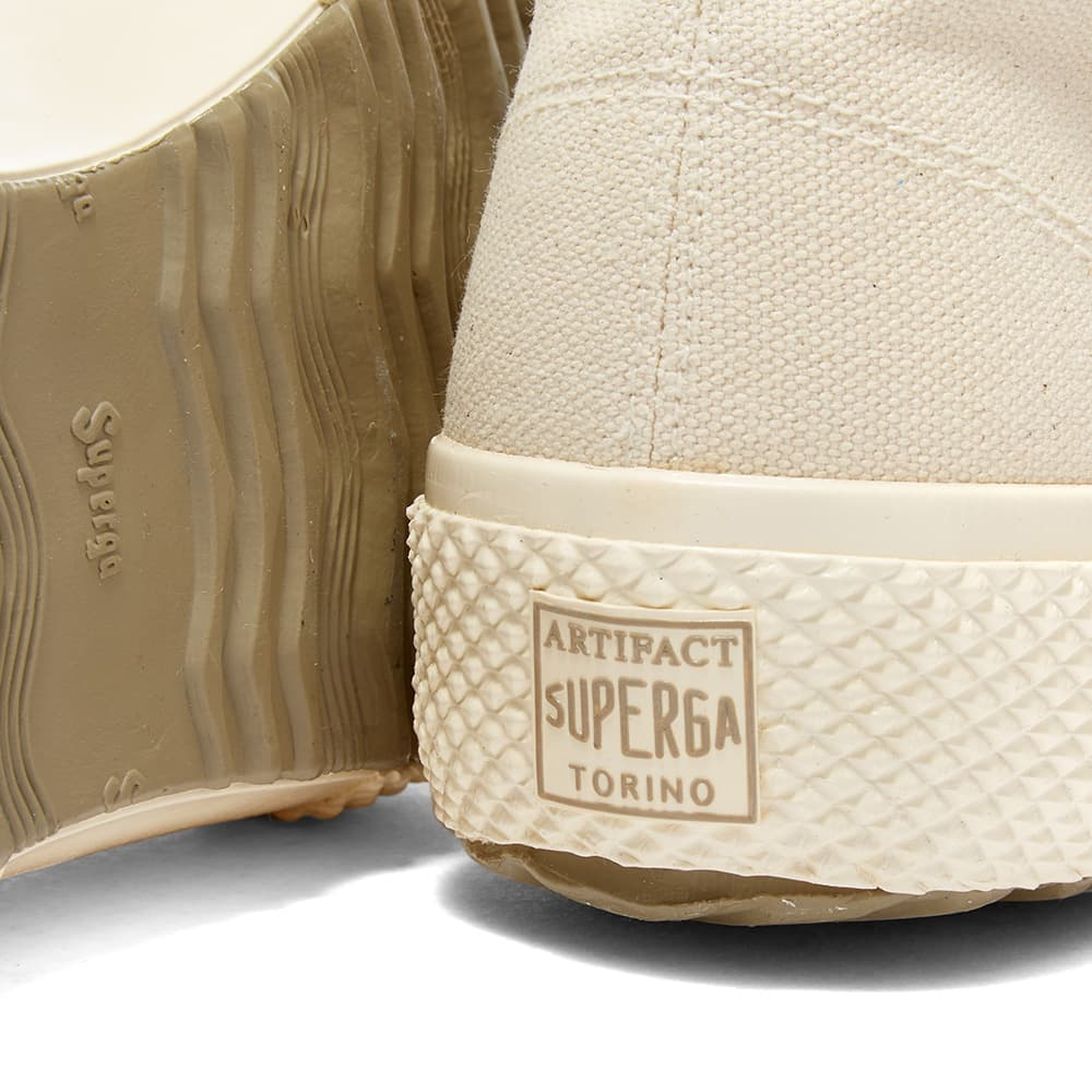 Artifact By Superga 2435-Ms Japanese Canvas High - White Mastice