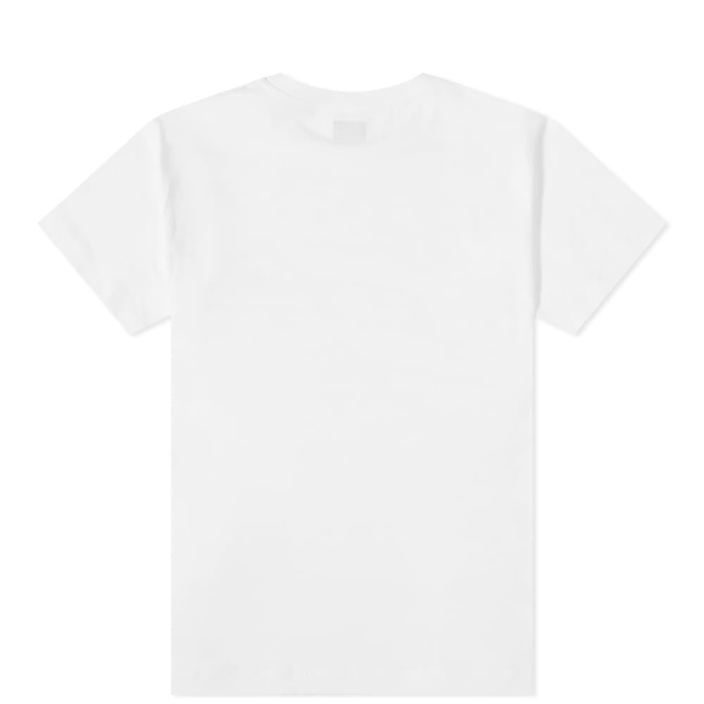 C.P. Company Undersixteen Reflective Small Patch Logo Tee - Gauze White