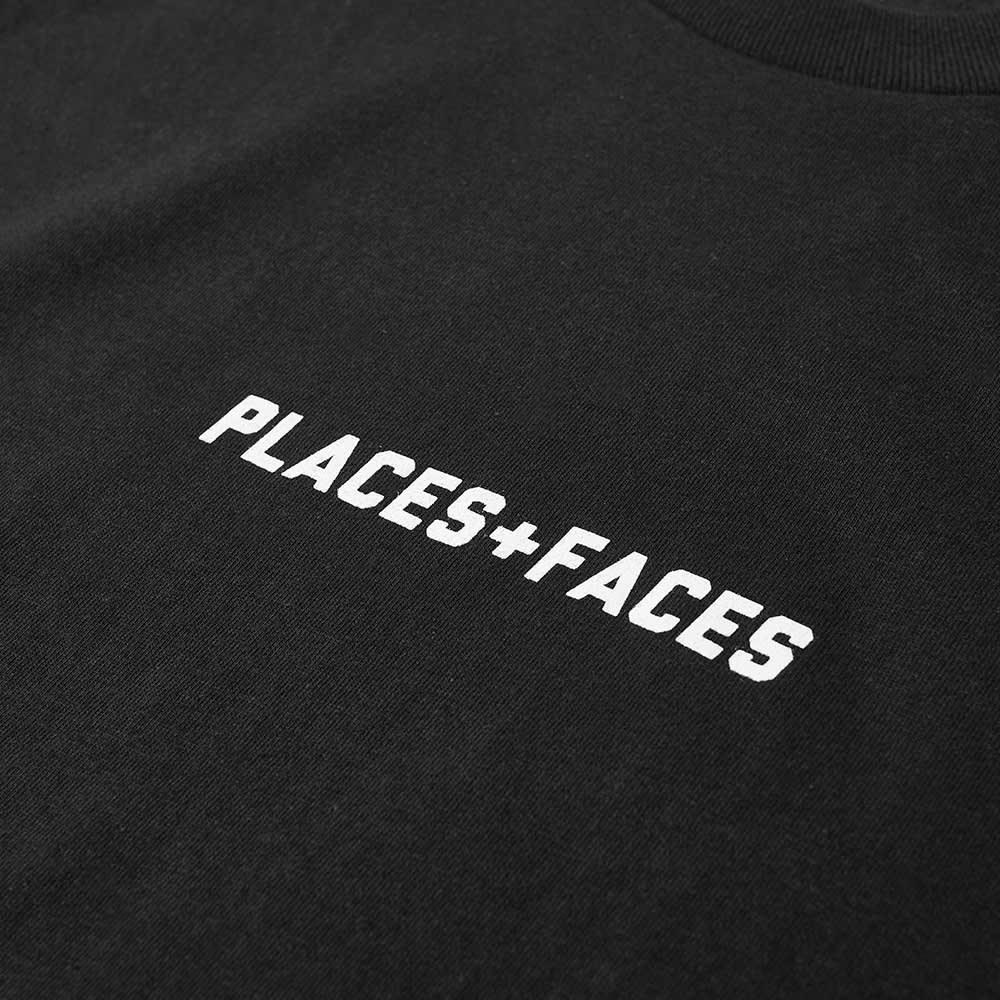 PLACES+FACES Logo Tee - Black & White