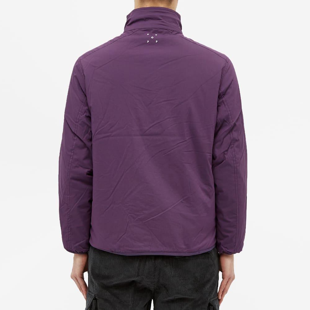 POP Trading Company Plada Jacket - Dark Purple & Anthracite