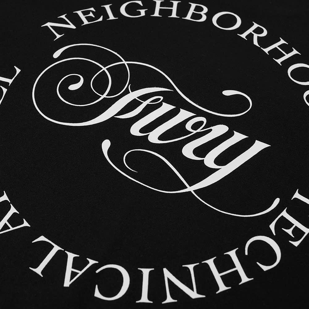 Neighborhood Fury Tee - Black & White
