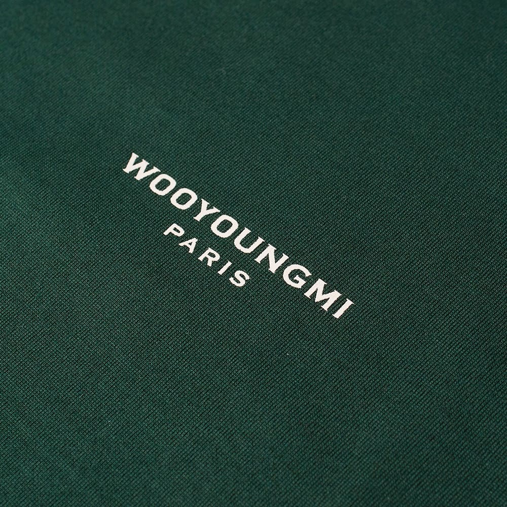 Wooyoungmi Box Logo Tee - Green