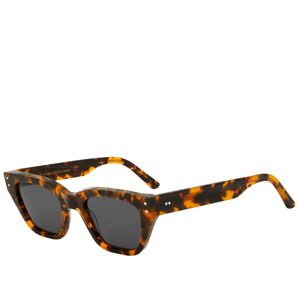 Monokel Memphis Sunglasses - Havana & Solid Grey