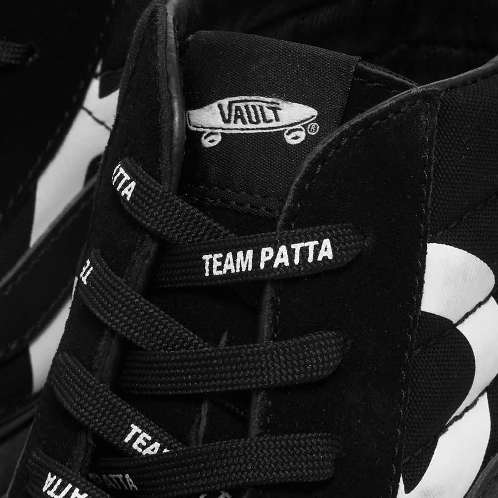 Vans Vault x Patta UA Sk8-Hi Reissue LX - Black