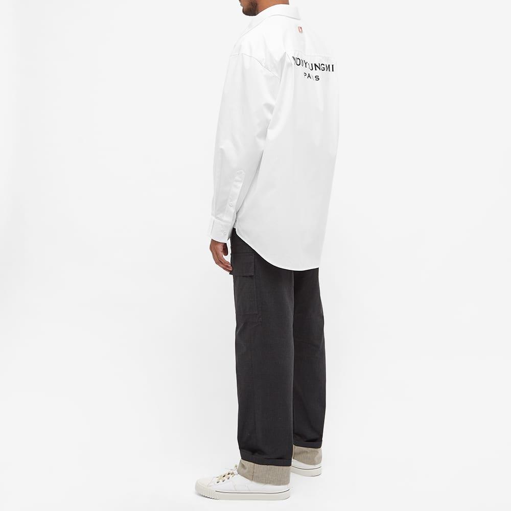Wooyoungmi Back Logo Shirt - White