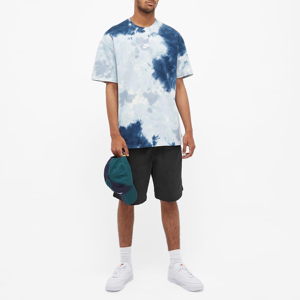 Nike Tie Dye Tee - White, Blue & Ashen Slate