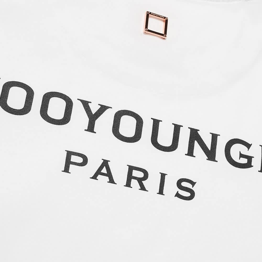 Wooyoungmi Back Logo Tee - White