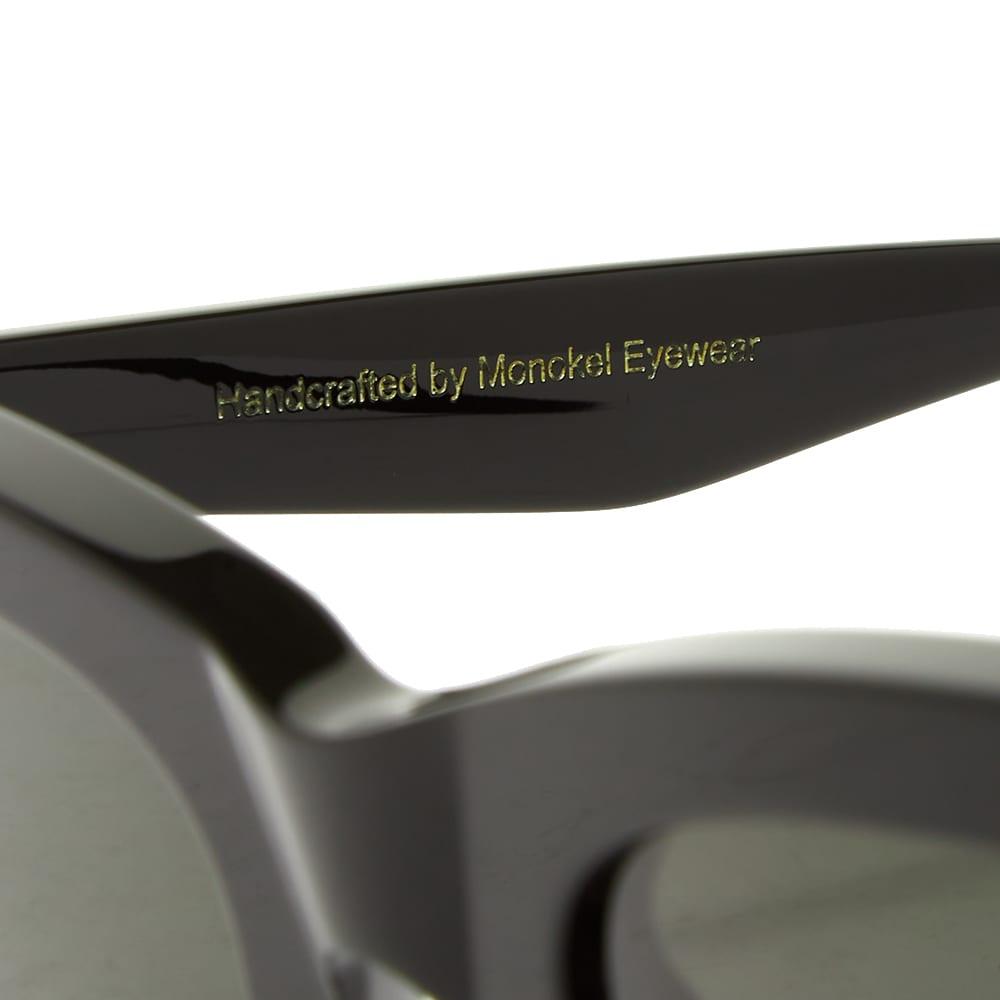 Monokel Moon Sunglasses - Black & Green