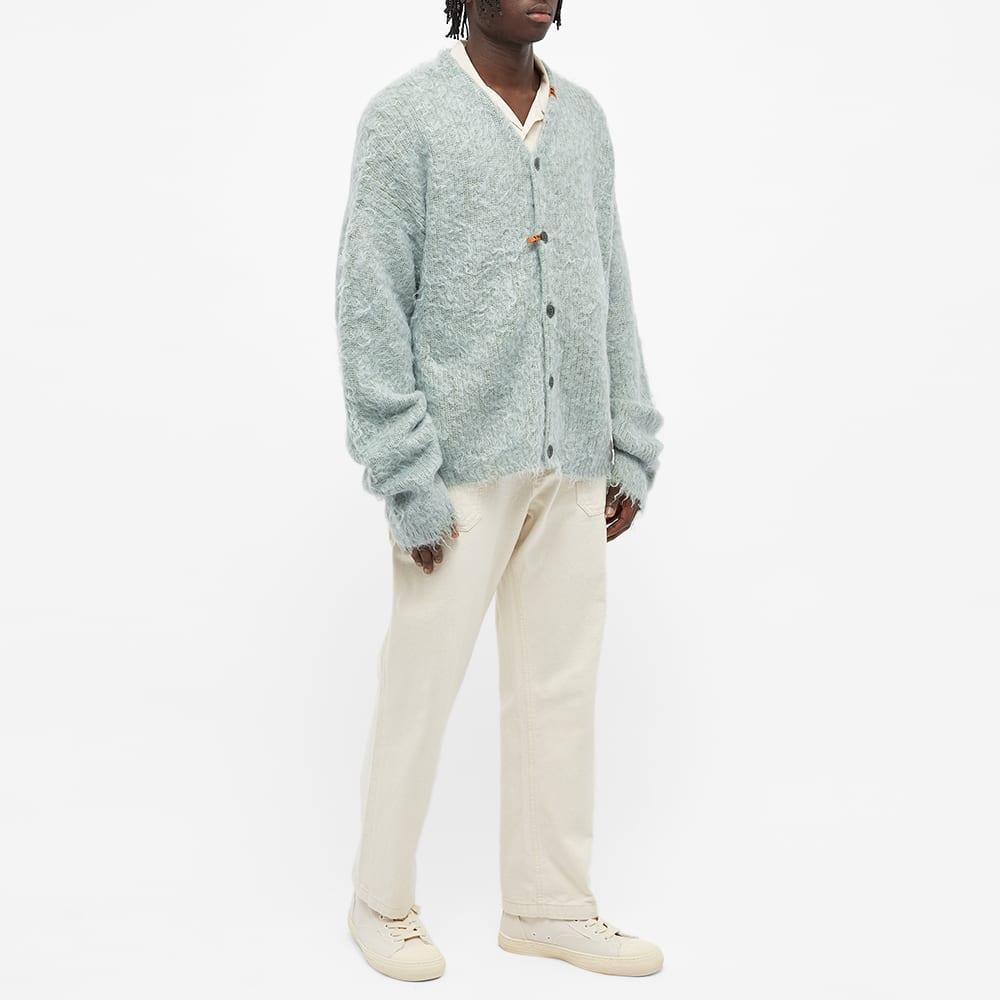 Maison MIHARA YASUHIRO Brushed Knit Cardigan - Green