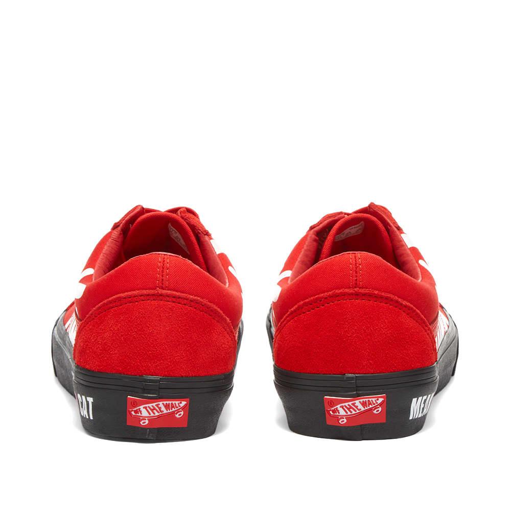 Vans Vault x Patta UA Old Skool LX - High Risk Red & Black