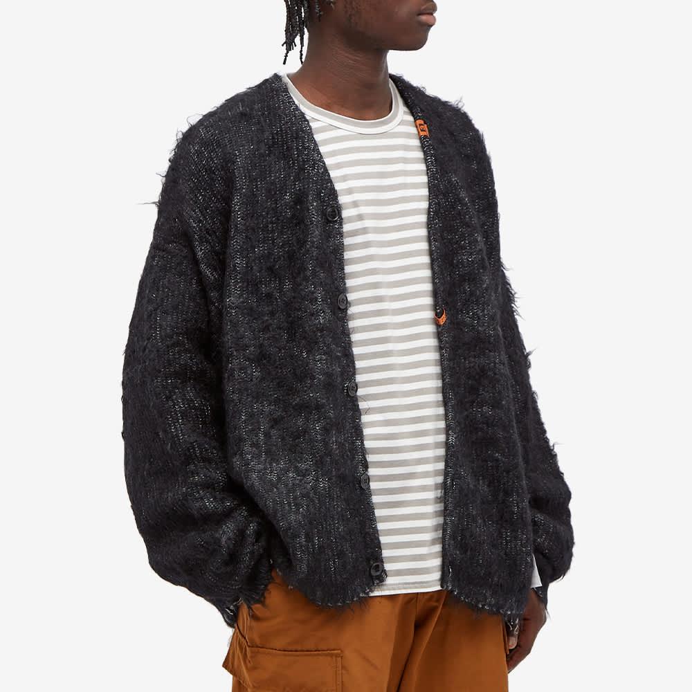 Maison MIHARA YASUHIRO Brushed Knit Cardigan - Black