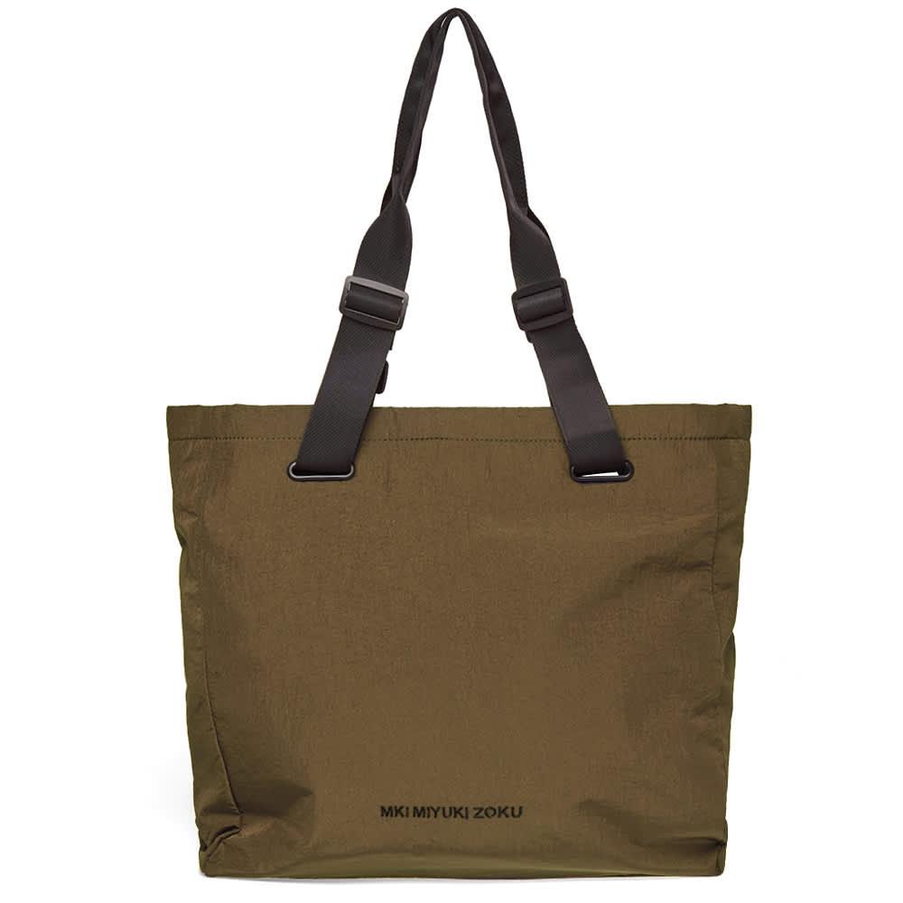 MKI Nylon Tote Bag - Olive