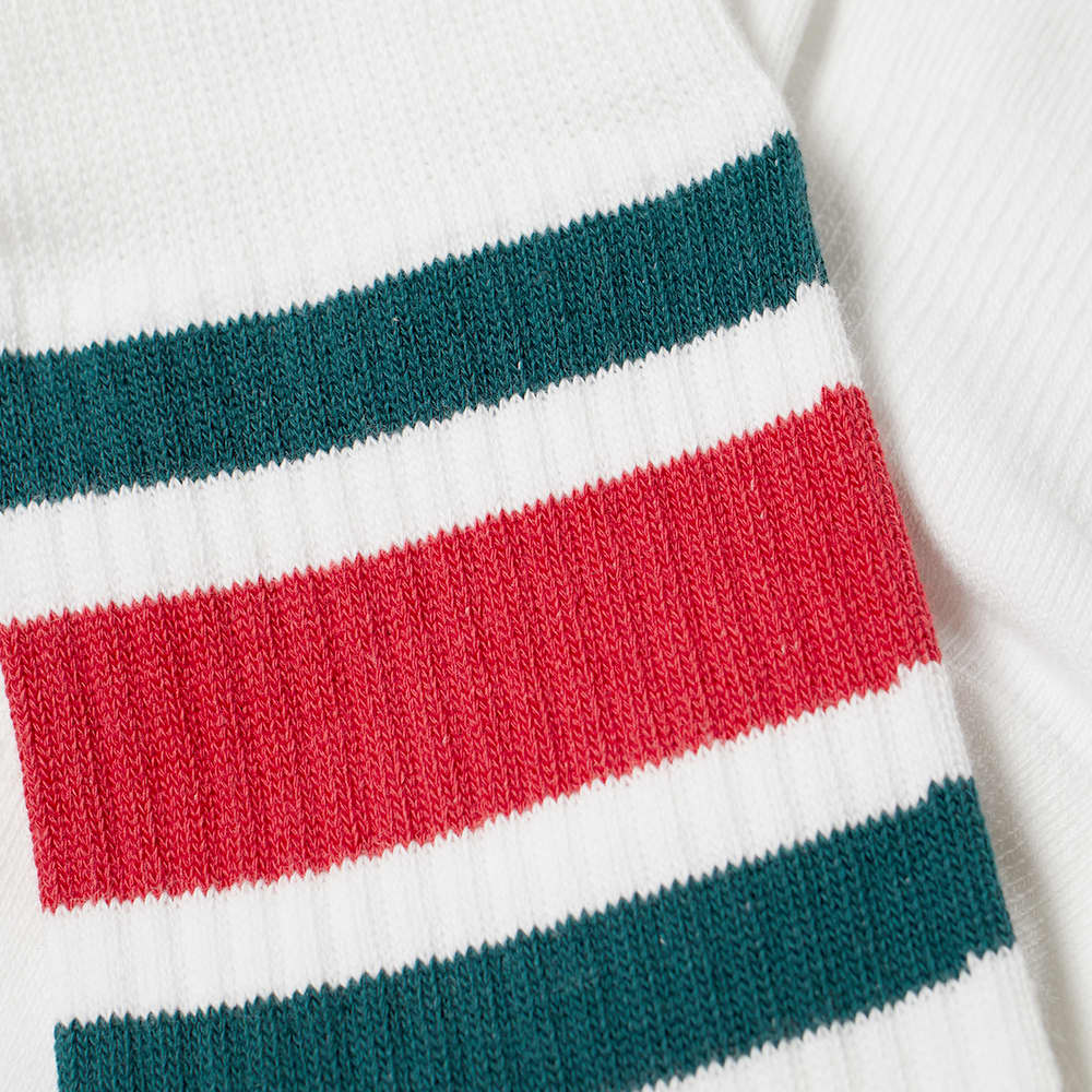 Stance Boyd 4 Sock - White & Red