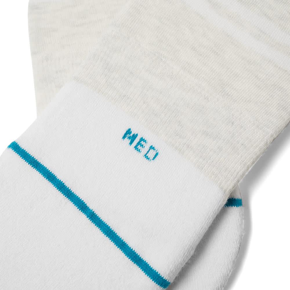 Stance Gamut 2 Sock - 3 Pack - White
