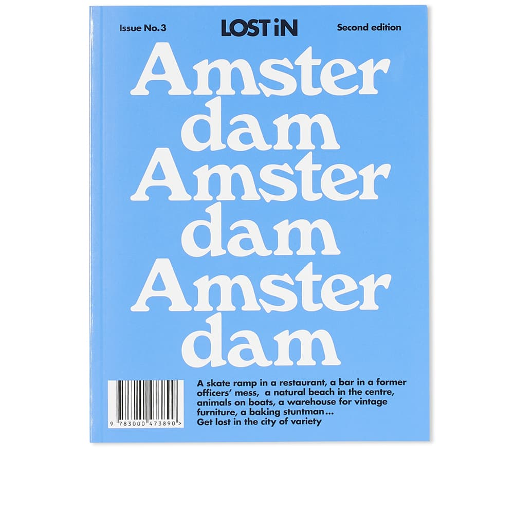 Lost In Amsterdam City Guide 2nd Edition - Lost In