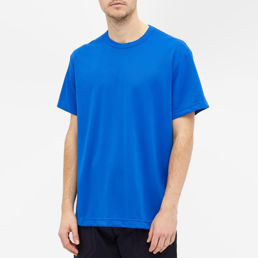 Comme des Garcons Homme Plus Polyester Tee - Blue
