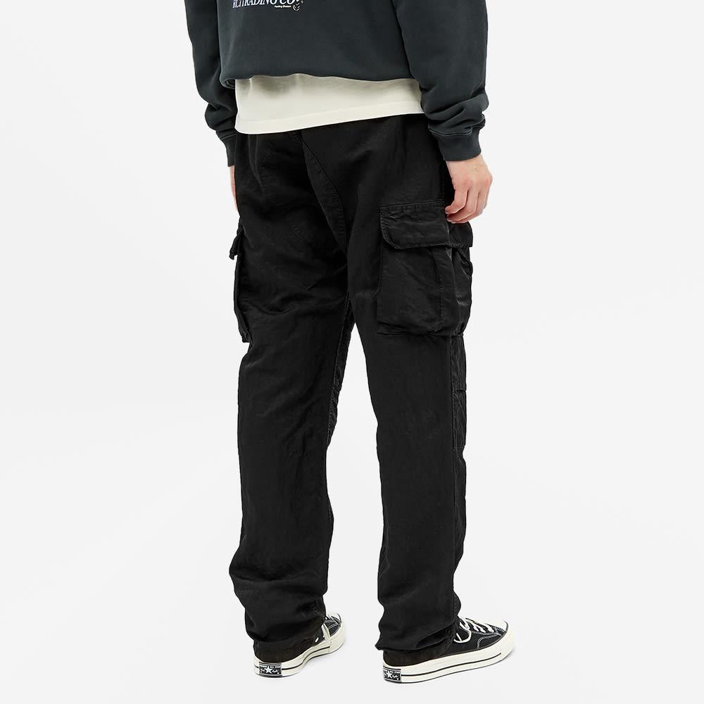 Reese Cooper Nylon Cargo Pant - Black