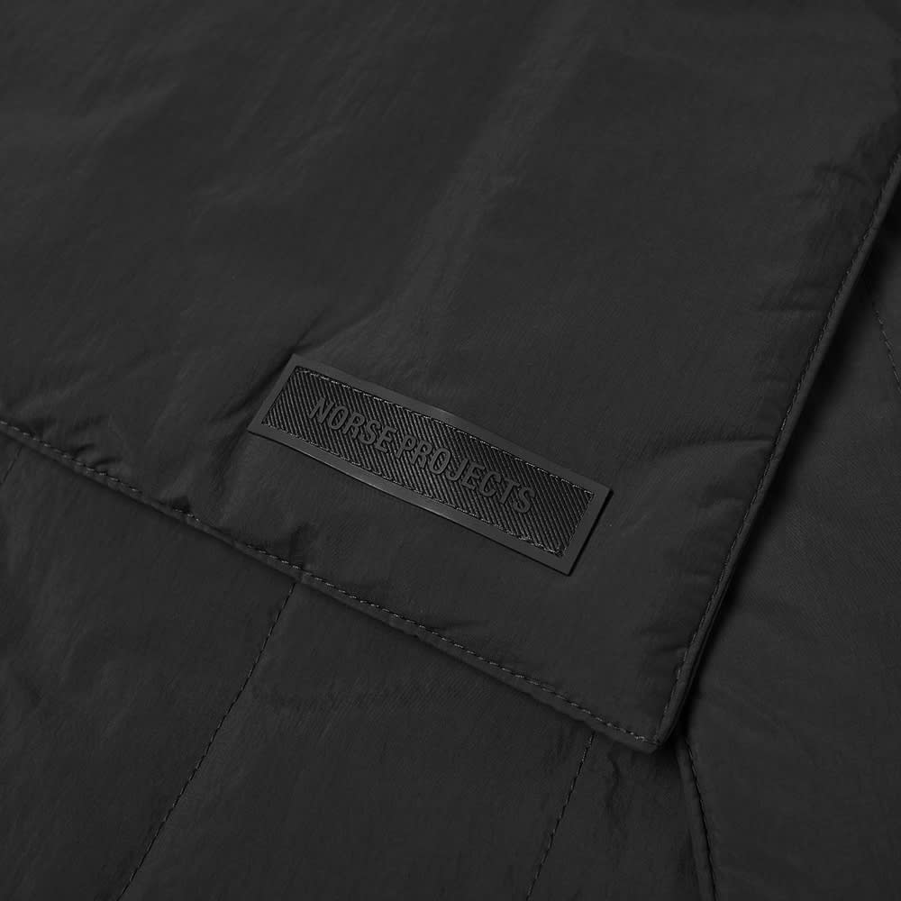 Norse Projects Snap Quilt Scarf - Black