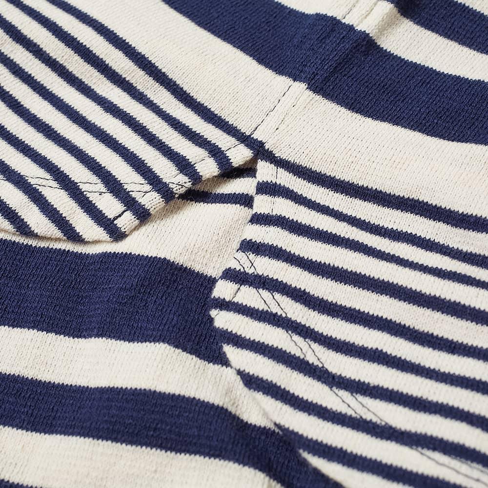 Nonnative Striped Dweller Tee - Navy