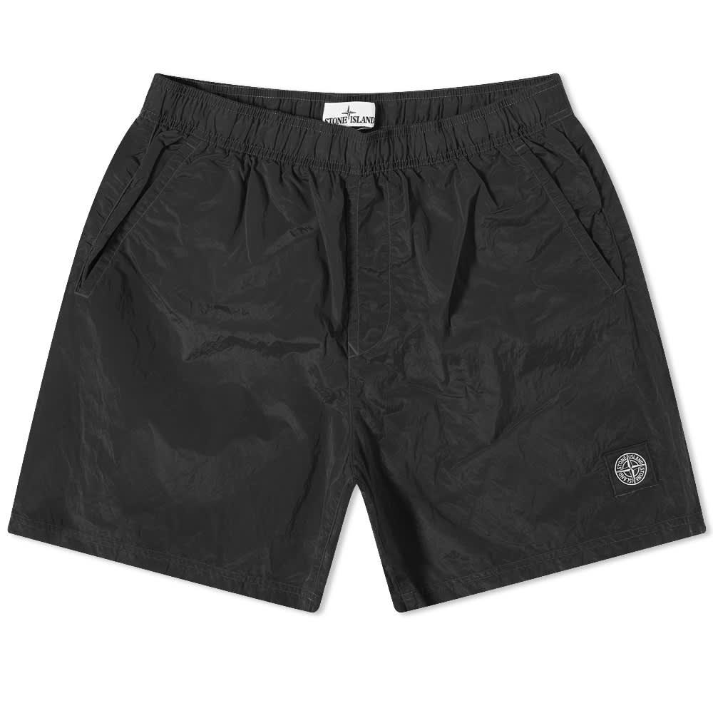 Stone Island Nylon Metal Swim Short - Black