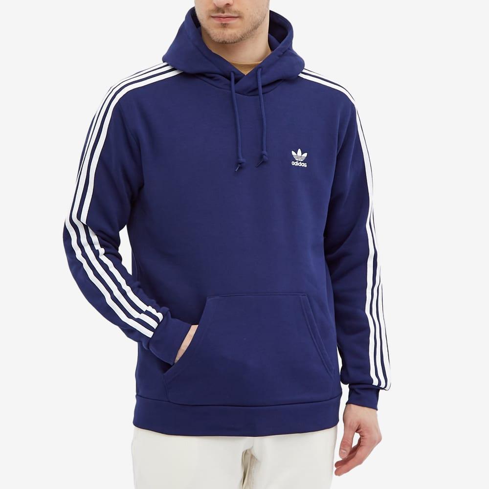 Adidas 3 Stripe Hoody - Night Sky