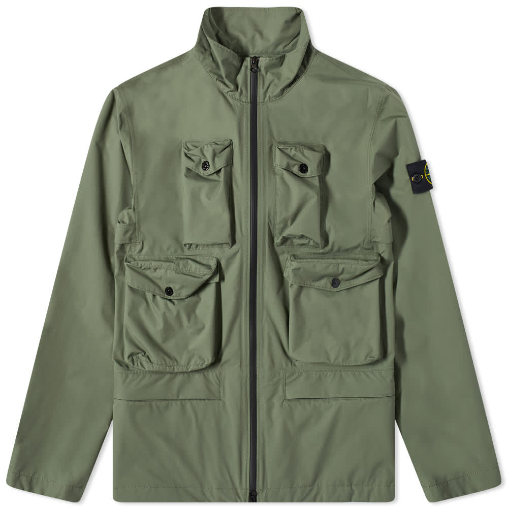 Stone Island Packable Ripstop Gore-Tex Field Jacket - Sage