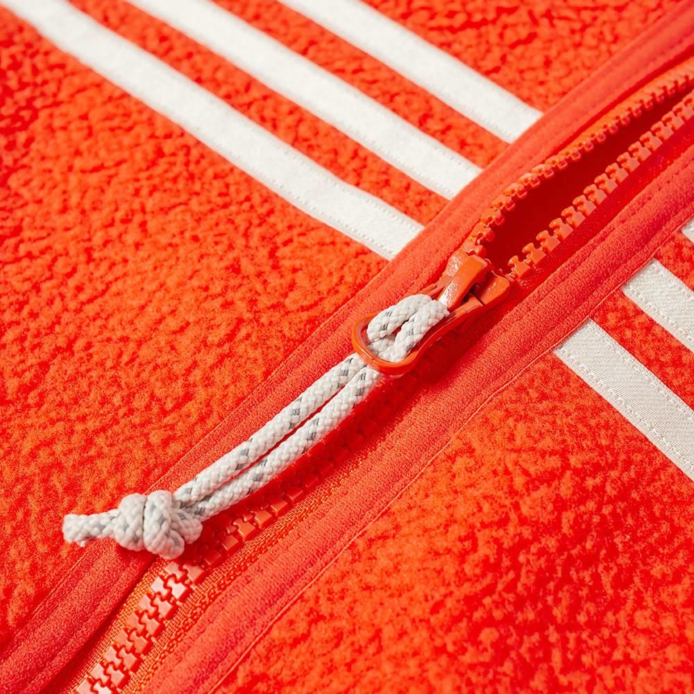 Adidas Zip-Up Fleece - Orange