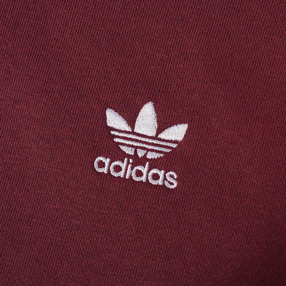 Adidas 3 Stripe Crew Sweat - Victory Crimson