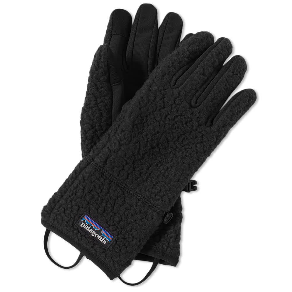 Patagonia Retro Pile Gloves - Black