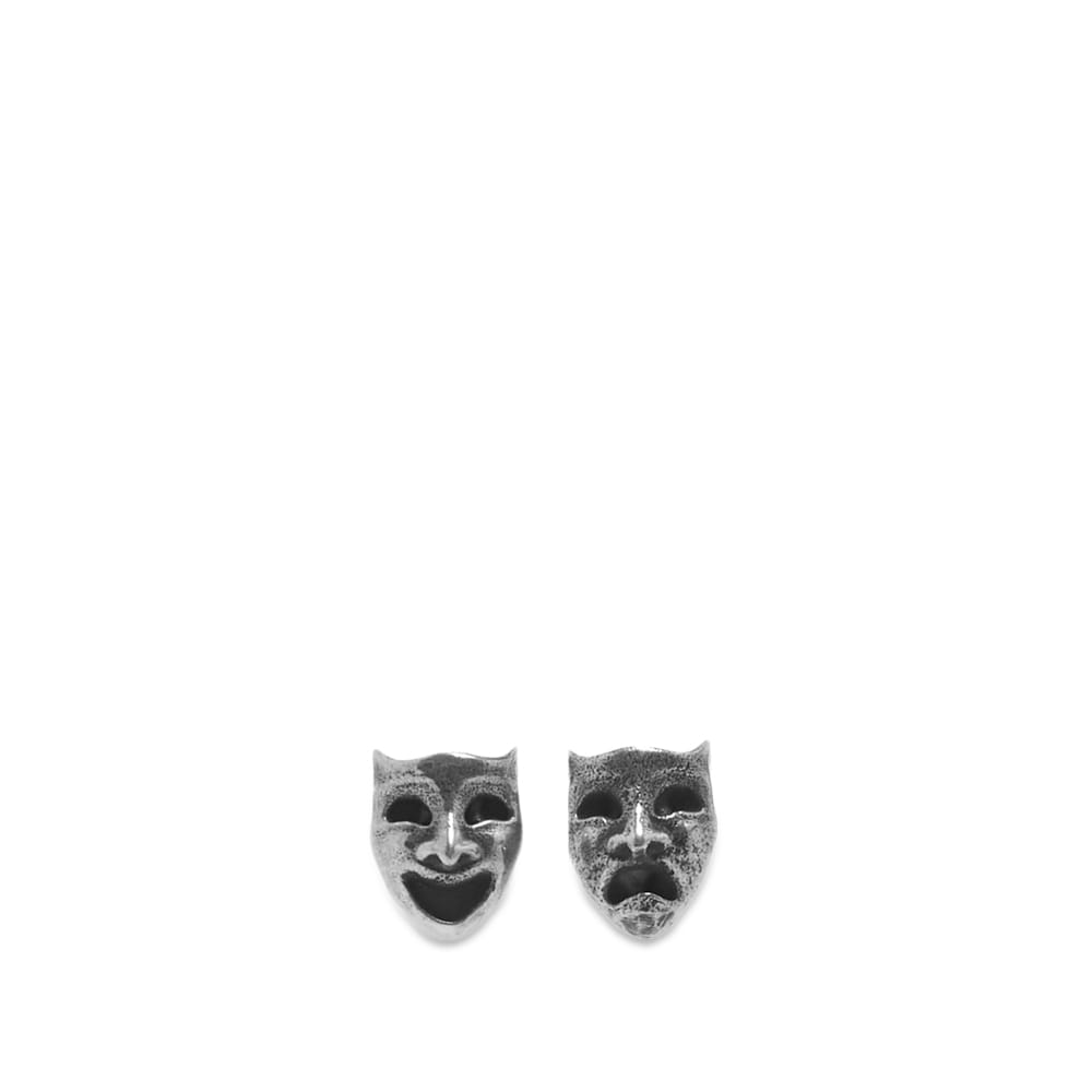 Maple Laugh Now Cry Later Earrings - Silver