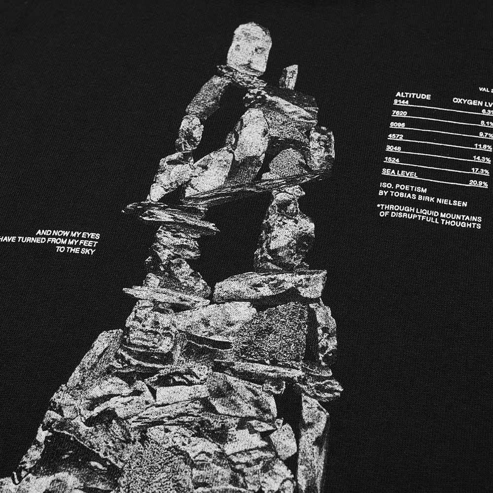 Tobias Birk Nielsen Popover Small Graphic Hoody - Black