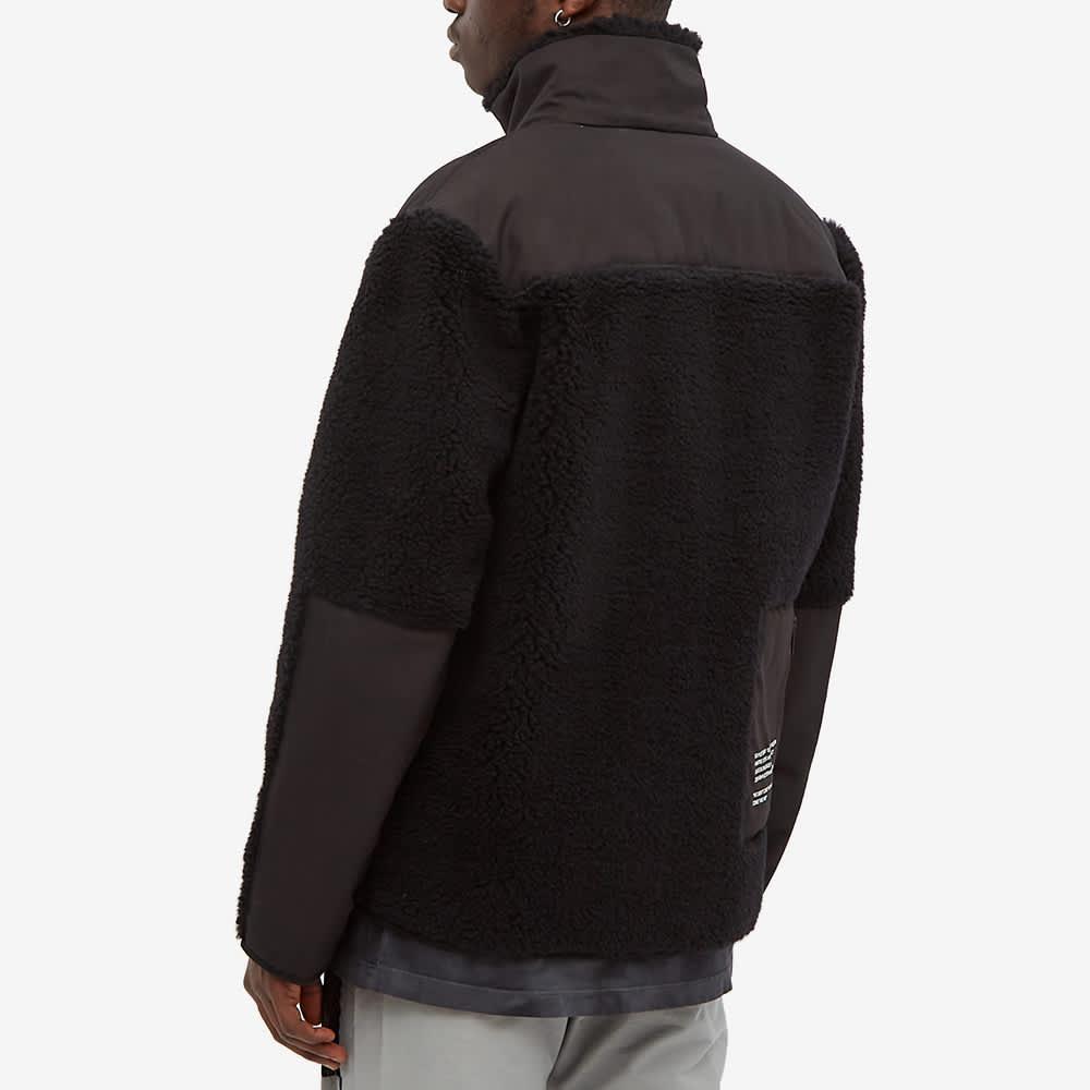 Tobias Birk Nielsen Sherpa Fleece Jacket - Black