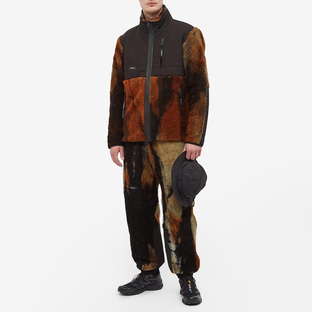 Tobias Birk Nielsen Sherpa Fleece Jacket - Sunned Out Orange