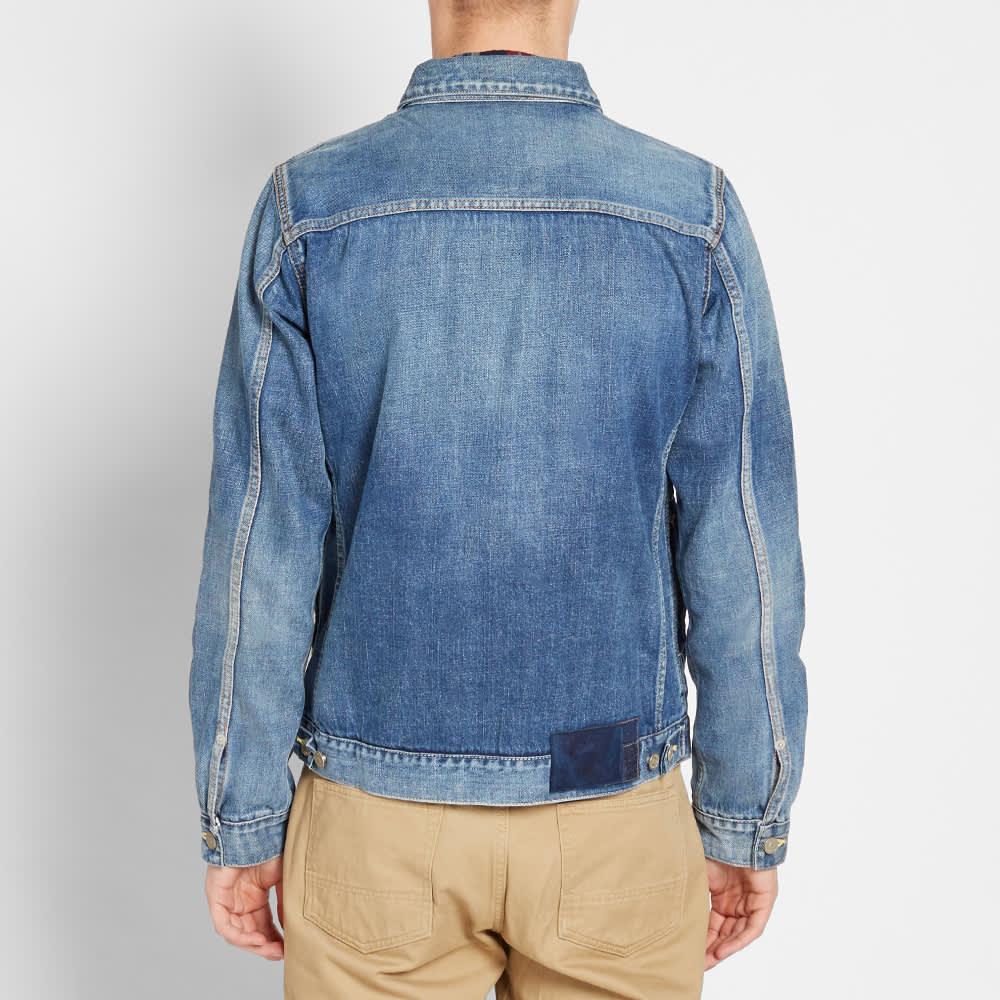 Visvim Social Sculpture Chore Jacket - Washed Indigo