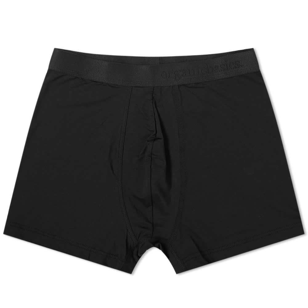 Organic Basics TENCEL Lite Boxer Short - Black