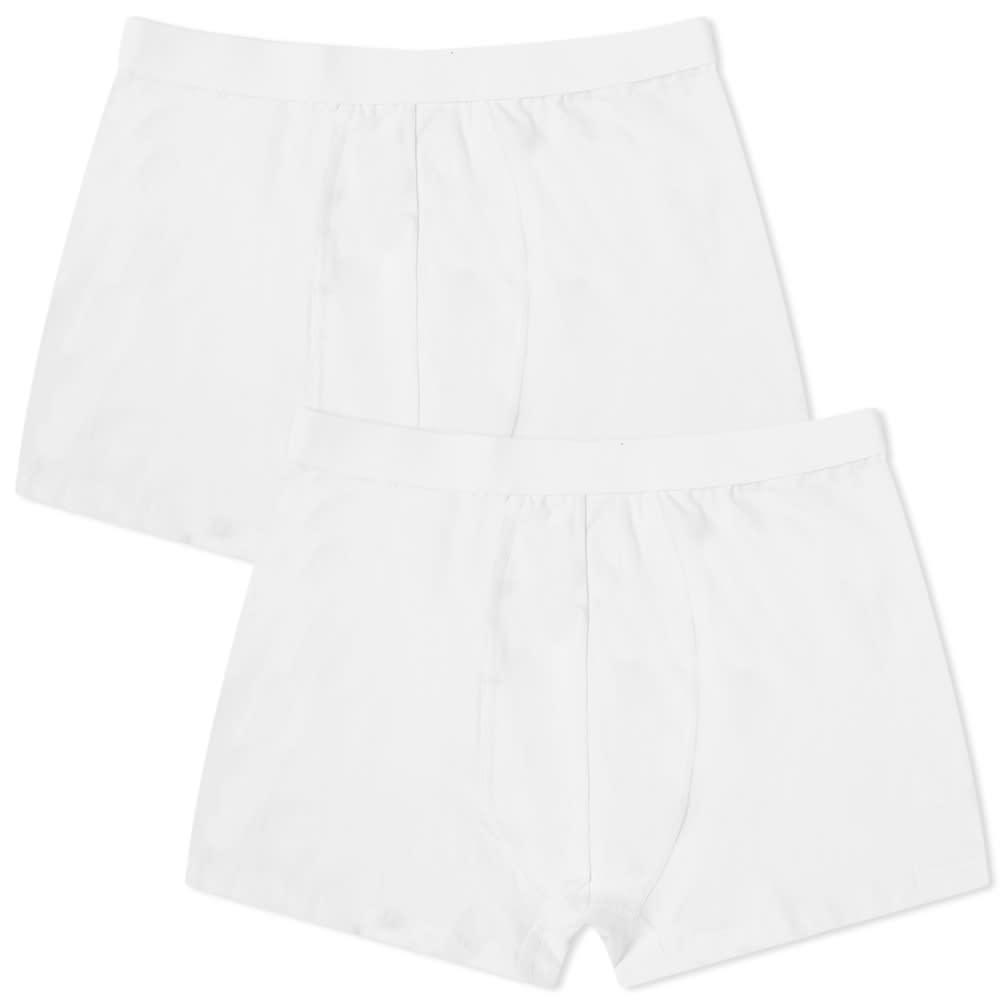 Organic Basics Organic Cotton Boxer Short - 2 Pack - White