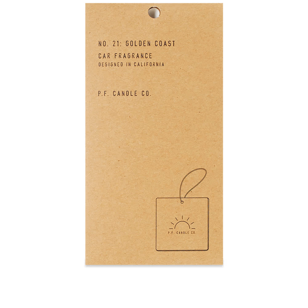 P.F. Candle Co Golden Coast Car Fragrance - 1 Pack