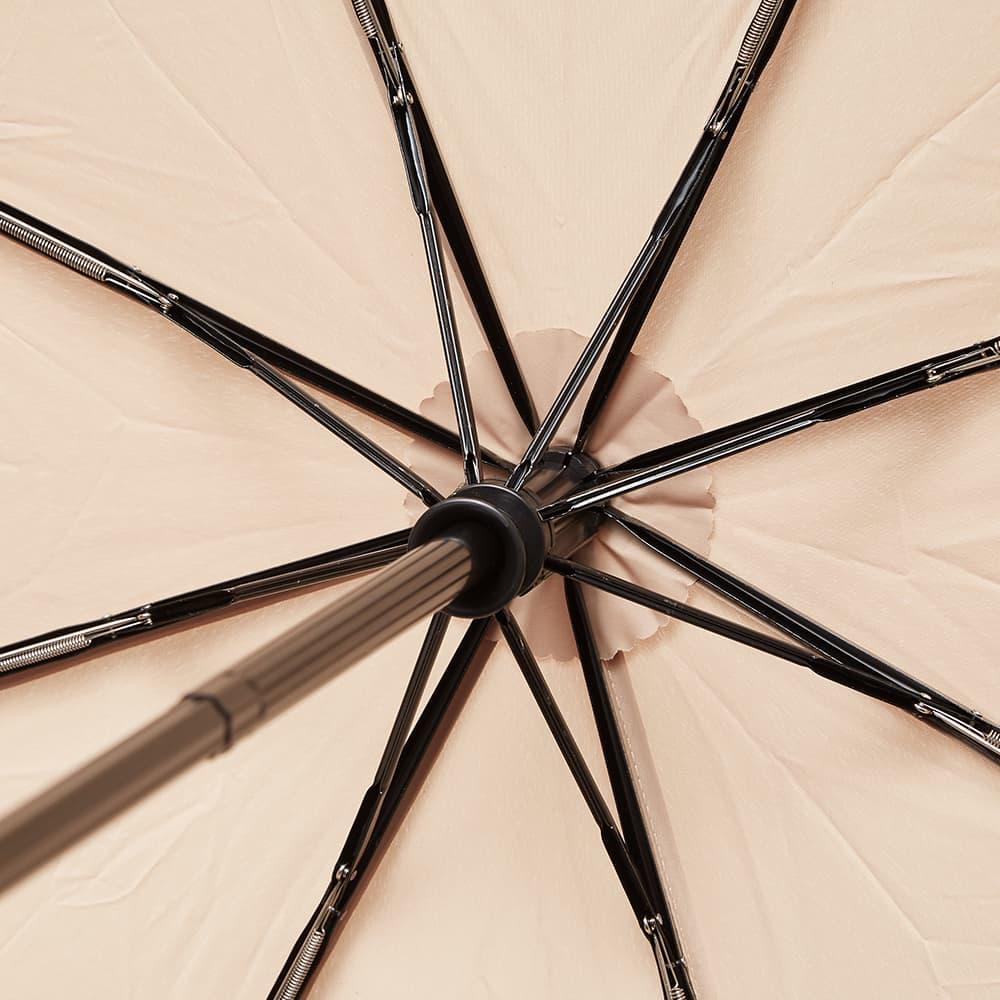 London Undercover Light Roast Auto-Compact Umbrella - Light Brown