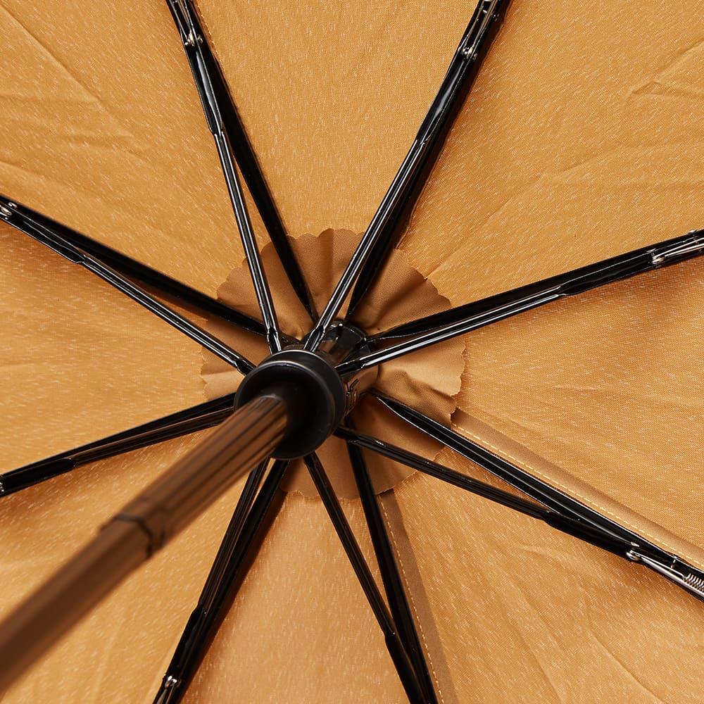London Undercover Medium Roast Auto-Compact Umbrella - Medium Brown