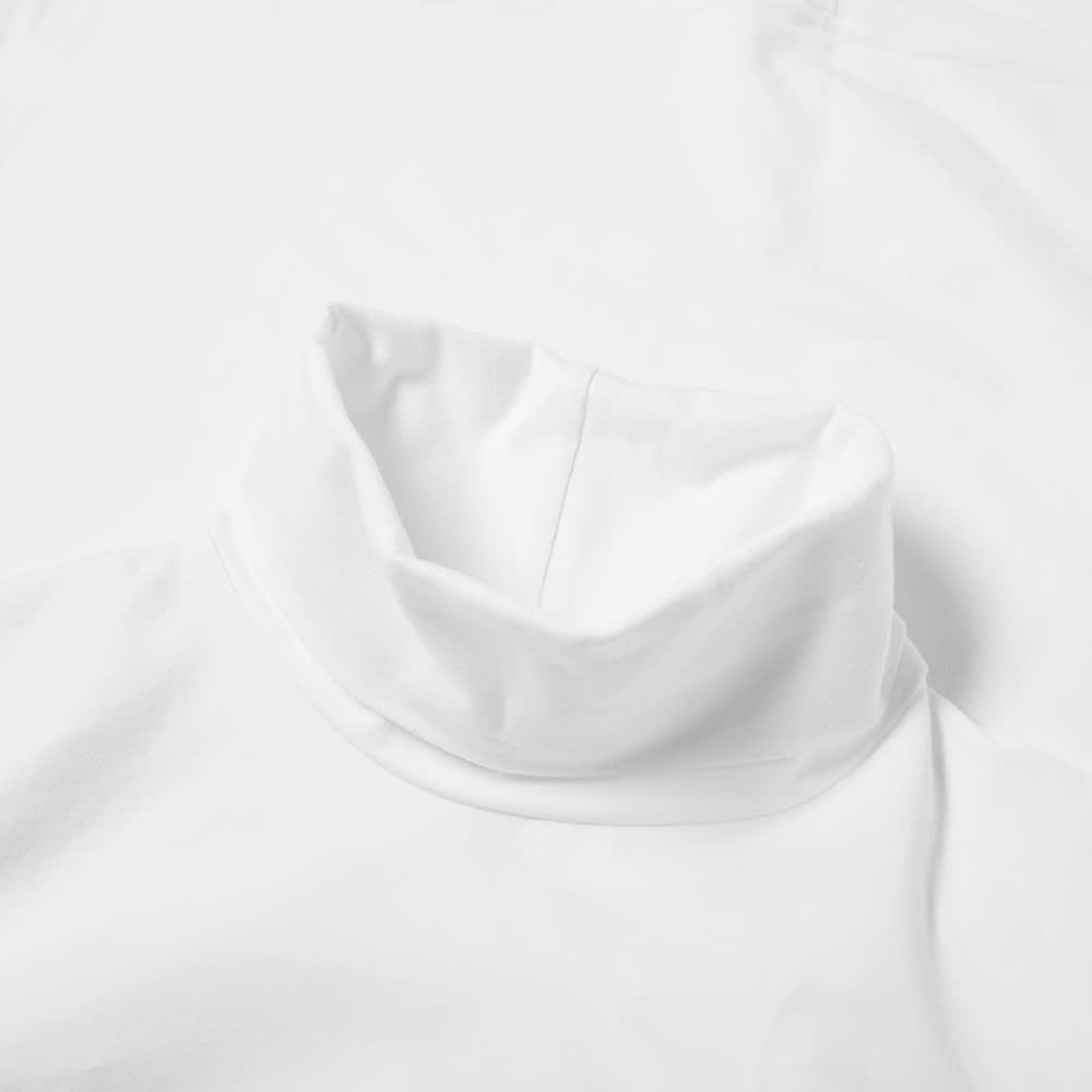 Organic Basics Organic Cotton Turtleneck Tee - White